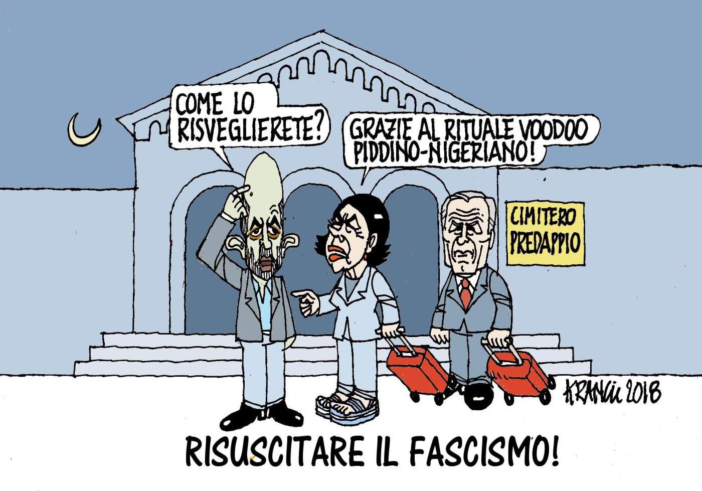 Macerata effetto boomerang dell antifascismo alla saviano for Cittadinanza italiana tempi di attesa 2018